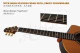 Superior dobro mestre de Yulong Guo Nomex toda a guitarra acústica contínua