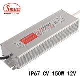 Symbole de véhicule lent-150-12 150W 12VCC 12.5Un étanche IP67 Driver de LED de tension constante