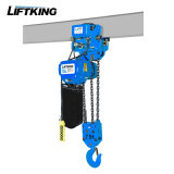 tipo alzamiento de cadena eléctrico de 7.5t Kito con la suspensión del gancho de leva