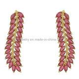 고품질 기털 작풍 다채로운 당 귀걸이 (KE3115)