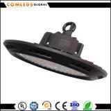 140lm/W lumen de la alta de la bahía Ra82 Meanwell del UFO LED alto alta calidad negra 80W del programa piloto IP65