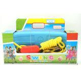 Het openlucht Stuk speelgoed van de Sport van de Plastic Zetel van de Schommeling van de Tuin voor Jonge geitjes