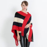 fashion Acrylic Knitted Sequins 숙녀 경례군악 손질 숄 (YKY4591)