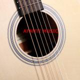 """Disegno 40 di Cuestom di musica di Afanti """" /42 """" di chitarra acustica (AAG-106)"""