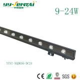 IP66 impermeabilizzano l'indicatore luminoso della rondella della parete di 9W LED per l'illuminazione di architettura