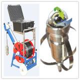 La cámara de la perforación explora la pared y el centro del receptor de papel de agua de la opinión de la perforación del agua de la cámara de vídeo del martillo
