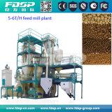 家禽の餌の供給のための小さい供給の生産ライン