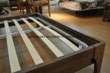 Camas matrimoniales modernas de la base de madera sólida (M-X2297)
