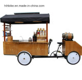 軽食、ホットドッグのための熱い販売の移動式食糧カート。 クレープ、コーヒー、販売のためのジュース
