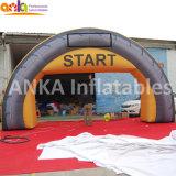 Guangzhou gonflable personnalisé Finish Line/Start Arch pour le sport