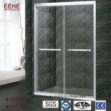 prix en verre de pièce de douche de première couverture de salle de bains en verre de 6mm en Inde