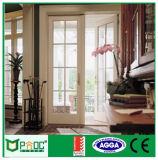 Porta do Casement do estilo de Pnoc080221ls Europa com vidro laminado