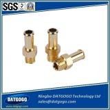 高精度の競争CNC機械化の青銅色ねじ部品