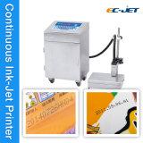 Imprimante à jet d'encre continue de Jumeau-Couleur pour la bouteille à bière (EC-JET920)
