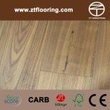 Walnut Engineered Wood Flooring Andar Pontuação Standard Padrão DA UE
