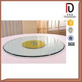 耐久の円卓会議のホテルのガラス回転盤(BR-BL028)