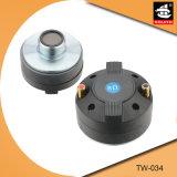 1.34インチの音声コイル13のOzの磁石の専門のネオジムのスピーカードライバーTw034