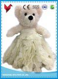 Grand jouet bourré géant fait sur commande d'ours de nounours de peluche pour le mariage