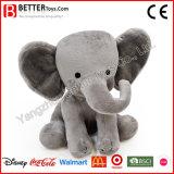 Éléphant mol de jouet de peluche de peluches molles de caresse pour des gosses/enfants