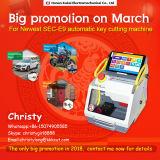 Promoção! Utilizar ferramentas Chaveiro Sec-E9 amplamente utilizado o código de chave de carro automático máquina de corte mais baixo preço com vários idiomas (Inglês, Espanhol...)