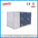 공기에 의하여 냉각되는 물 냉각장치 단위와 열 펌프