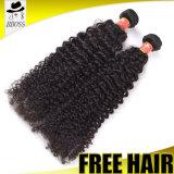 100 сырцовых разных видов курчавых красных волос бирманца Weave