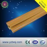 PVC幅木の壁パネルの木カラー