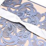 La participación de la Tarjeta de Invitación de boda Invitaciones de Boda corte láser cinta Tarjeta