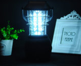 36multifunción de alto brillo LED de luz de acampada con solar/DC/Manivela linterna de camping
