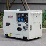 Generator 6.0kw van de Dieselmotor van de Enige Fase BS7500dse van de bizon (China) de Professionele