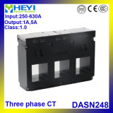 Dasn248 CT a tre fasi 3 in 1 tipo della sbarra collettrice dei trasformatori correnti Cts unito 3 fasi