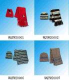 El invierno gorras y bufandas