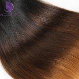 1b/4/30 Ombre 색깔 인간적인 Virgin 머리 길쌈