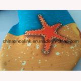 Stern-Fisch-Bild-Wasser-Strand-Form-Aqua-Schuh