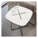 Grand dos simple moderne de vie et table basse colorée ronde