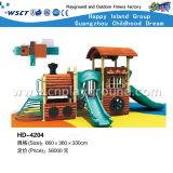 普及したジャングルの冒険シリーズ子供の屋外の運動場(HD-4202)