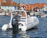 El casco del barco de la fibra de vidrio de Liya el 19FT provee de costillas el mejor barco de pesca de la costilla