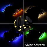 Corda feericamente psta solar quente do diodo emissor de luz 2017 para o Natal RGB 50m