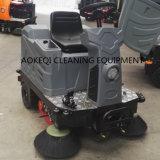 Conduite industrielle de machine de nettoyage sur la balayeuse électrique de balayeuse