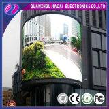 Farbenreiches druckgießendes im Freienkurve P3.91 LED-Verkaufsmöbel