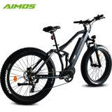 1000 W de alta velocidade a suspensão total Electric Mountain Bike