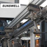 Risparmio di energia efficiente Combiblock di coperchiamento di riempimento di salto di Sunswell per le bevande gassose