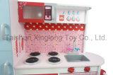 新しいおもちゃは木の食器棚、普及した木のおもちゃの台所一定MDFの物質的な子供の木の大きい台所Playsetのおもちゃ大きいデザイン木の子供の台所演劇のふりをする