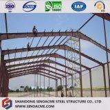 Precios bajos de África Edificio Modular de acero estructural taller