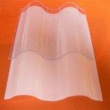 Hoja sólida teñida del material para techos del policarbonato con Ultravioleta-Revestido