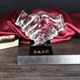 Los mejores premios trofeo de cristal Cristal corporativa enviar regalos a las cooperativas Partner