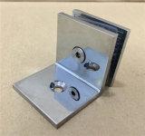 平らなクロム亜鉛真鍮のヒンジ90のシャワーのヒンジの浴室ガラスクランプ