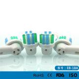 Têtes Pro-Blanches de brosse à dents électrique de soin oral de tête de rechange d'action de la soie Eb-18A pour B oral