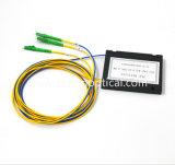 Gpon разветвитель 1X2 модуля АБС Оптоволоконный PLC разветвителя