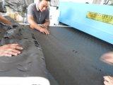 Machine de découpage rotatoire de tente militaire de bande de conveyeur